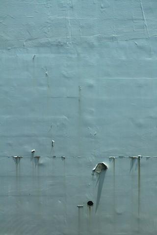Lance Ward artist green series pastel colours 2014 peeling textured traces detritus