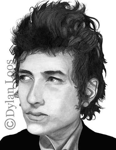 the blind tiger tattoo dylan loos art phoenix arizona bob dylan pencil graphite