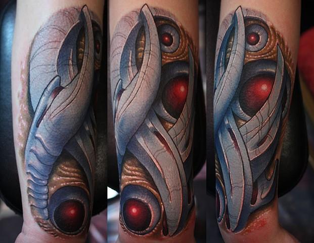 bio mechanical tattoo, tattoo, Phoenix Arizona tattoo, AZ, tattoo artist