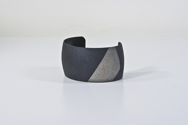 Two-Tone Black and White Cuff