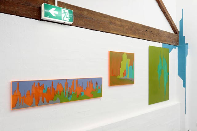 Thanks for the downgrade installation view Fehily Contemporary by Merryn Trevethan