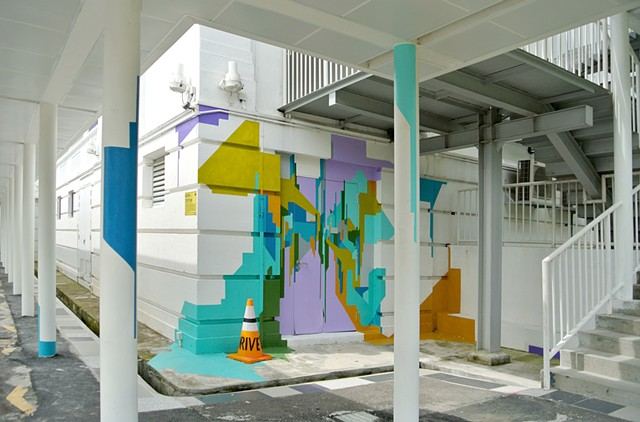 public art for DRIVE festival singapore gillman Barracks by Merryn TRevethan