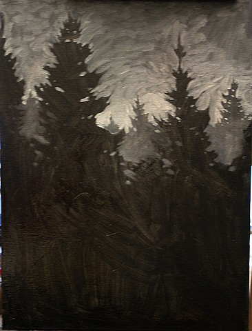Deep Dark Forest by Nathaniel Meyer