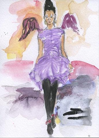 Amethyst Angel