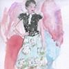 Magenta Angel
