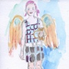 Plaid Angel