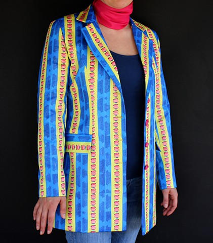 zenduart, bay area artist, zen du, fashion, jacket