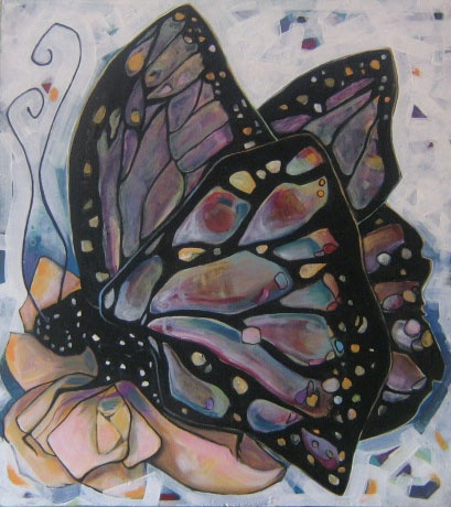 Butterfly with Gold