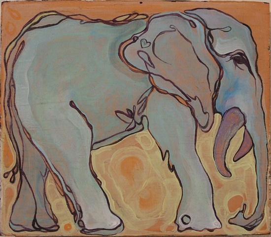 Tiny Elephant no.3