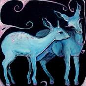 Blue Deer Small