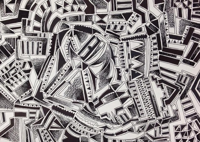 Studio Art 1: pen and ink drawing