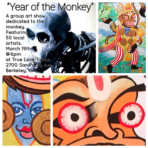 Year of the Monkey Berkeley, CA