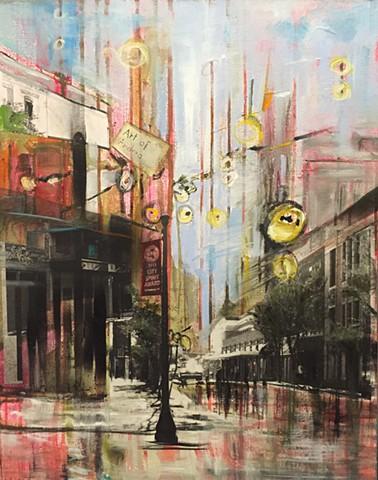 """""""Street of my studio"""""""