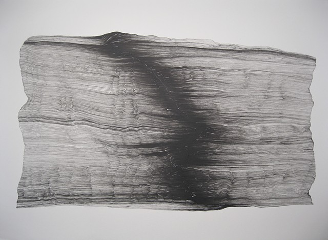 drawing nature sumi ink memory abstract process performance time landscape