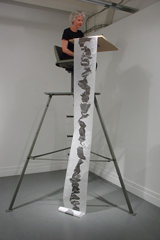 drawing, nature, abstract,public,process, performance, ink Crit Streed artist