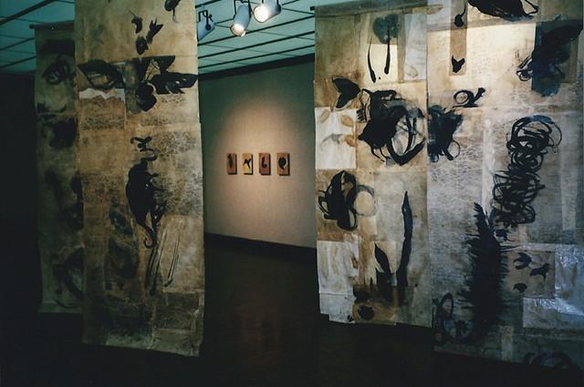 art installation memory mixed media sculpture