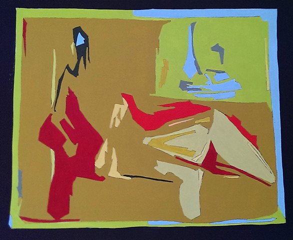 Reclining Figure with Still Life 1
