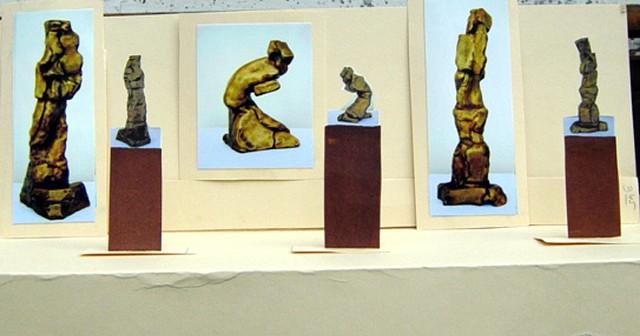 2D Maquette of Bronze Show