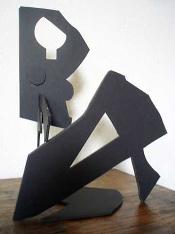 seated figure foam core
