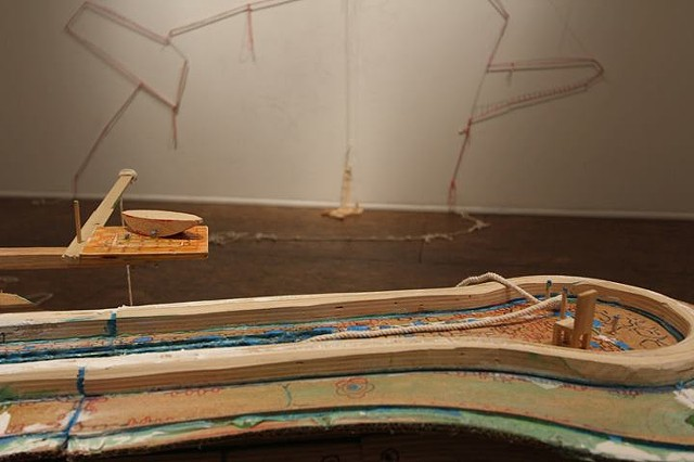 The Love Boat (abandoned) at Manifest Gallery, solo, 2012