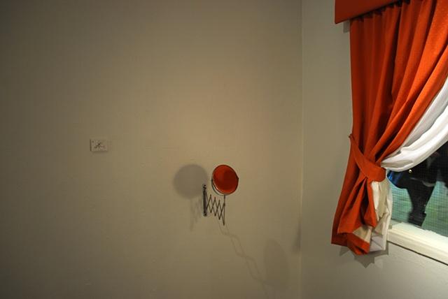...don't let the drapes catch! (detail)