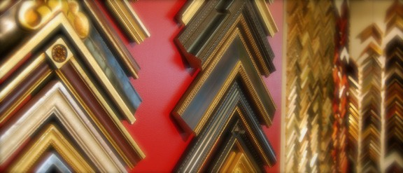 We carry man y types of handmade heirloom frames for that special piece.