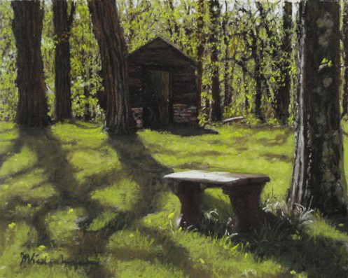 Huguenot Outhouse