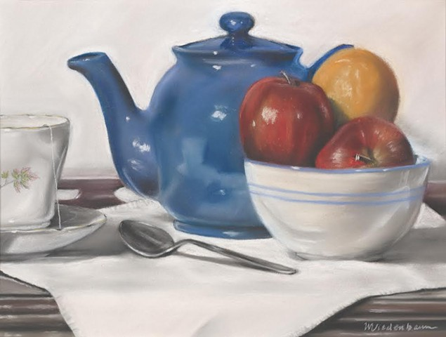 My Blue Teapot
