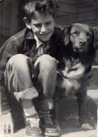 My loving dog story of Rexie and I back in the 1950s
