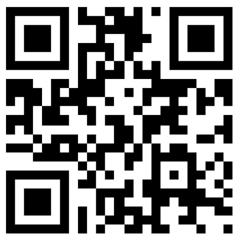 QR (Quick Response) code to access the website www.rvmann.com from a smartphone that has a QR reader app scanner.