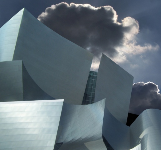 Disney Concert Hall Los Angeles Ca.