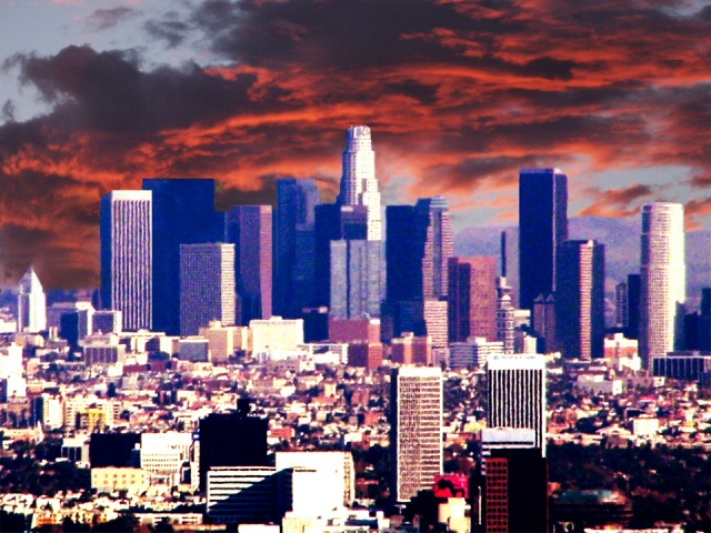 """Downtown Los Angeles 1/3/08"""