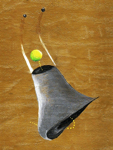 Astro Bell Painting from the sketches I created on Dragnet