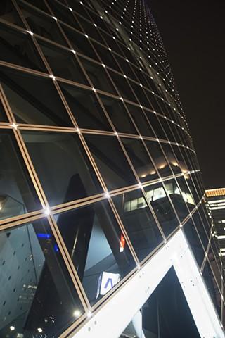 Jeweled facade