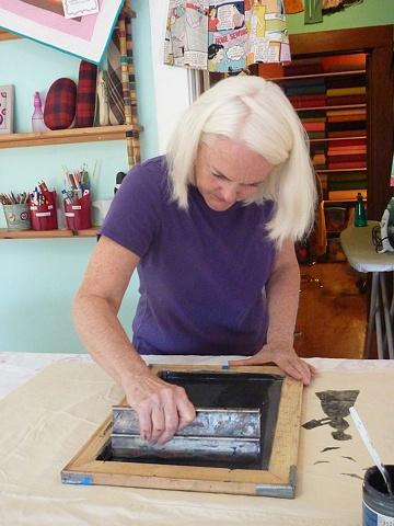 Donna, printing.