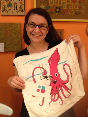 ...and this octopus print!