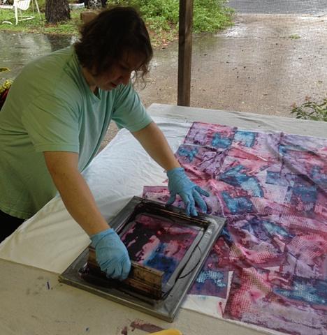 Tina printing.