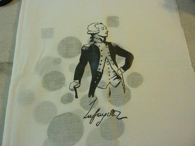 Lauren's Lafayette design.