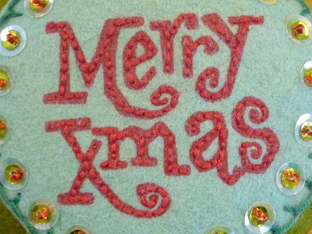Merry Xmas (detail)