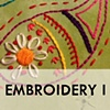 EMBROIDERY I
