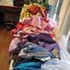 rainbow of fabrics