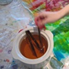 the wax pot