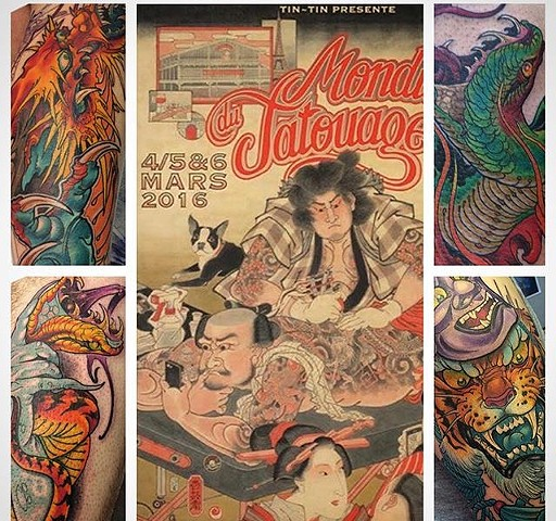 Mondial du Tatouage  Paris tatto convention