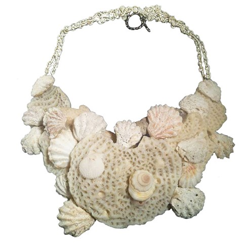 extra large coral necklace