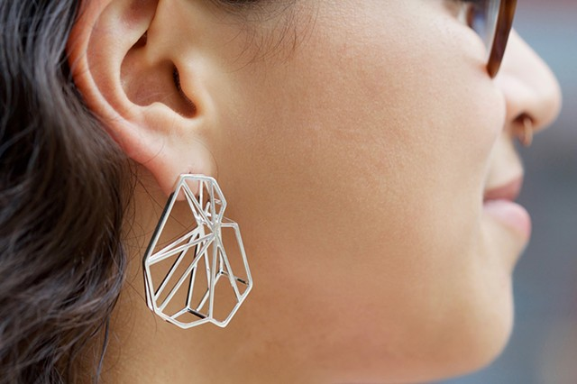 Layered Torso Earrings