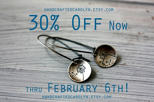 Etsy Sale - 30% off Sale in My Etsy Shop!