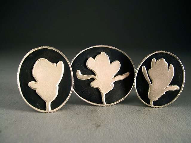 Magnolia Brooch Series