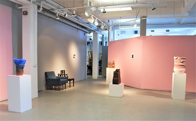 The Land(ing) installation view, AsIs Gallery