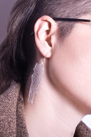 Iridescent Feather Hooks
