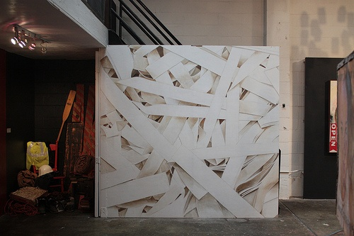 """Shredded"" - Mural Installation"